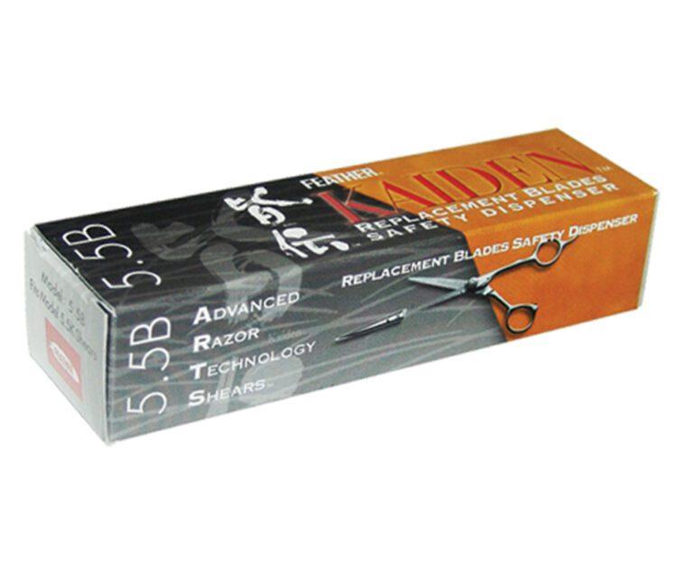 Feather Kaiden Shear Blades 5.5 box