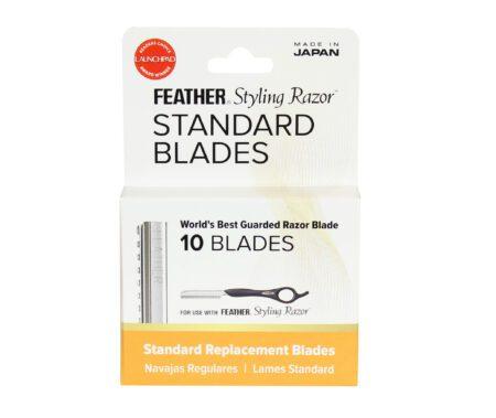 Feather Styling Razor Standard Blades 10pk