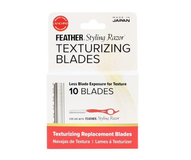 Feather Styling Razor Texturizing Blades 10pk