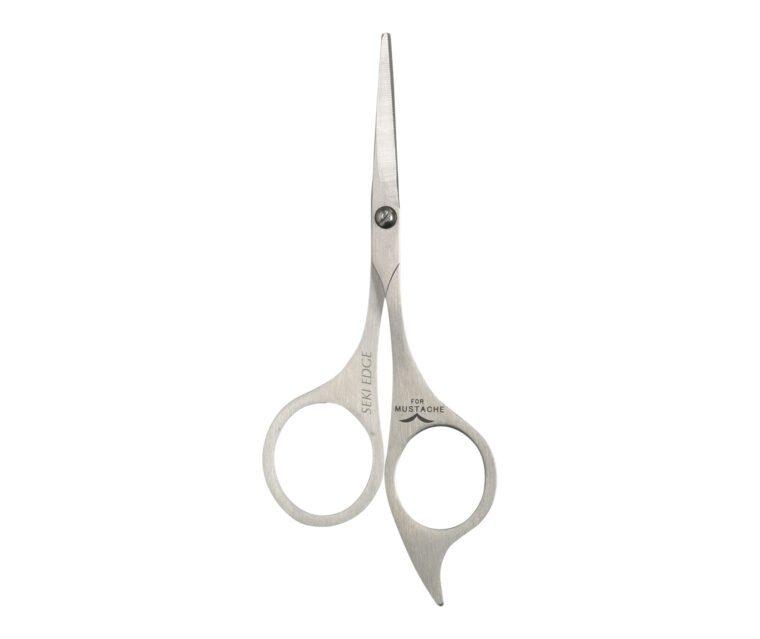 Seki Edge Stainless Steel Moustache Scissors (SS-902)